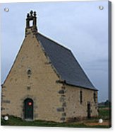 Rural Church In Brittany Acrylic Print