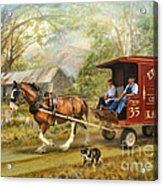 Rural Deliveries Acrylic Print