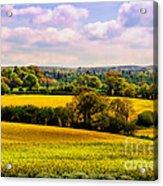 Rural England Acrylic Print