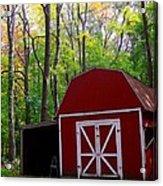 Rural Fall Scene Acrylic Print