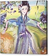 Rural Geisha Acrylic Print