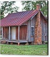 Rural Georgia Cabin Acrylic Print