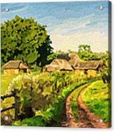 Rural Home Acrylic Print