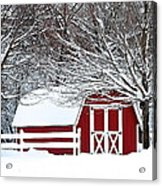 Rural Living Acrylic Print