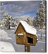 Rural Mailbox Acrylic Print