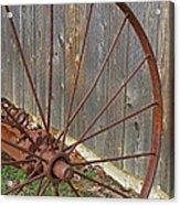 Rural Relics Acrylic Print