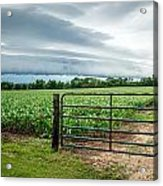 Rural Storms Acrylic Print