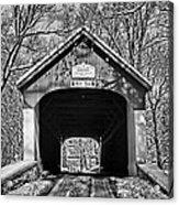 Rural Winter Acrylic Print