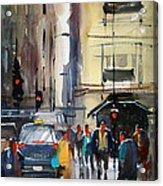 Rush Hour 2 - Chicago Acrylic Print