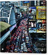 Rush Hour Manila Philippines Acrylic Print