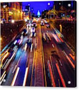 Rush Hour Traffic On North Capitol Show Acrylic Print