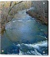 Rushing Vickery Creek Acrylic Print