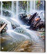 Rushing Water Acrylic Print