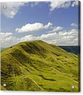 Rushup Edge From Mam Tor Acrylic Print