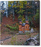 Russian Chapel - Vrsic Pass - Slovenia Acrylic Print