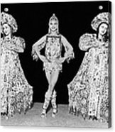 Russian Claudia Ballet Dancers Acrylic Print by Underwood Archives