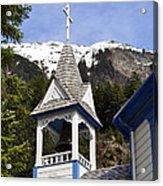 Russian Orthodox Church Bell Tower Acrylic Print