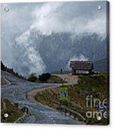 Russian Road - Slovenia Acrylic Print