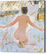 Russian Sauna IIi  Acrylic Print