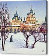 Russian Winter Acrylic Print
