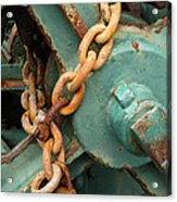 Rust And Decay Acrylic Print