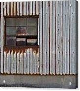 Rust And Window 1 Acrylic Print