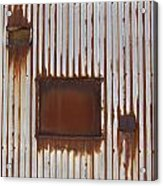 Rust And Window 3 Acrylic Print