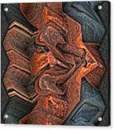 Rust Flow Acrylic Print