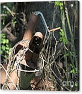 Rust In The Woods Acrylic Print