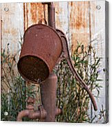 Rusted And Out Of Use Acrylic Print