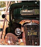 Rusted Acrylic Print