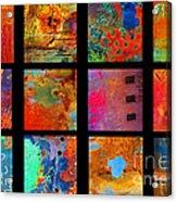 Rusted Glory Showcase Acrylic Print