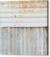 Rusted Metal Background Acrylic Print