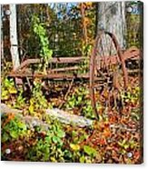 Rusted Old Plow Acrylic Print