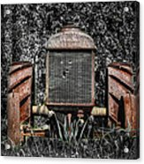 Rusted Old Tractor Acrylic Print
