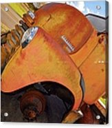 Rusted Out Chevrolet 5700 Acrylic Print by Liane Wright