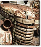Rusted Pickup  Acrylic Print