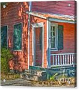 Rusted Tin Roof Acrylic Print