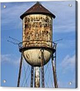 Rusted Water Tower Acrylic Print