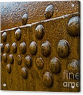 Rusted Whaling Machinery Acrylic Print