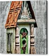 Rustic Birdhouse Acrylic Print