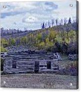 Rustic Cabin Acrylic Print
