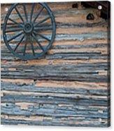 Rustic Ornamentation - Yates Mill Pond Acrylic Print by Paulette B Wright