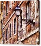 Rustic Rome Apartments Acrylic Print