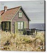 Rustic Seaside Cottage Acrylic Print
