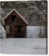 Rustic Shack After The Storm Acrylic Print