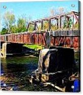 Rusting Bridge Acrylic Print
