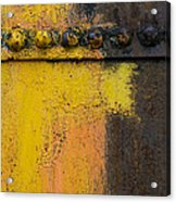 Rusting Machinery Acrylic Print