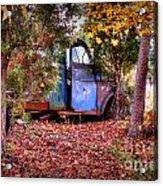 Rusting Truck Acrylic Print
