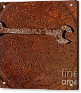Rusting Wrench   #0726 Acrylic Print